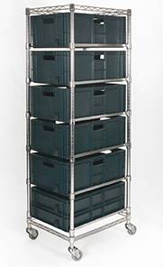 Euro Container Carts: click to enlarge