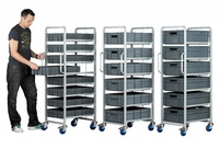 Topstore - Euro Container Tray Trolleys: click to enlarge