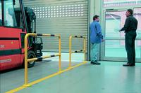 TRAFFIC - LINE Steel Hoop Guards - Surface Fixing: click to enlarge