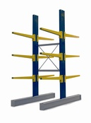 Double Sided BCR100 series Cantilever Racking - Height 3952mm