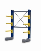 Single Sided BCR100 series Cantilever Racking - Height 2052mm