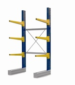Single Sided BCR100 series Cantilever Racking - Height 3040mm