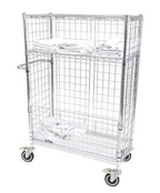 Chrome Laundry and Linen Trolleys