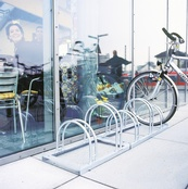 TRAFFIC-LINE Hi-Hoop & Lo-Hoop Bicycle Racks