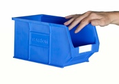 Topstore - TC3 Standard Colour Semi-Open Fronted Containers