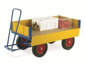 Turntable Trailers with Drop Down Side Panels