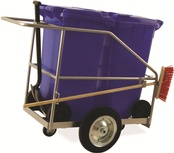 Janitorial / Street Cleaning Trolleys - Double Bin