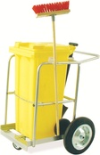 Janitorial / Street Cleaning Trolleys - Single Bin