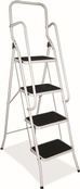 Folding Step Ladders c/w Handrail